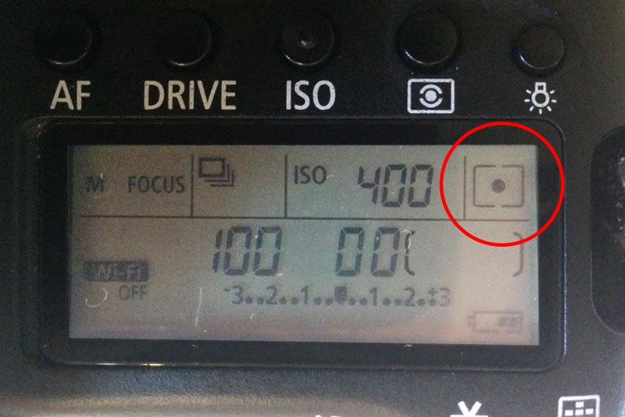 評価測光・中央重点測光・スポット測光について