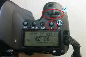 測光モードの変え方