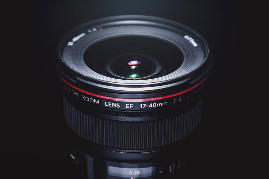 レンズの写真