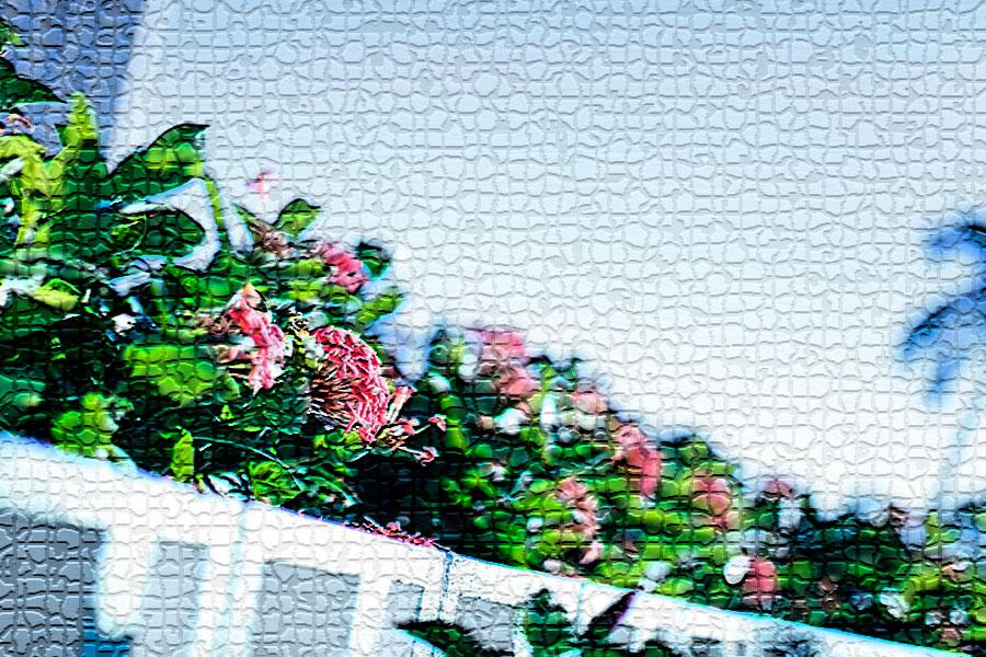 photoshopフィルター_モザイクタイル