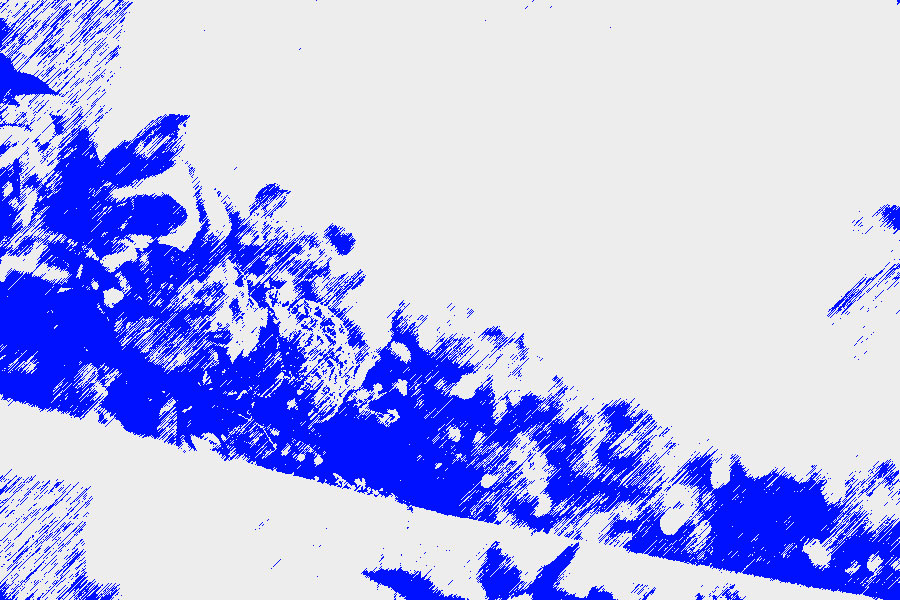 photoshopフィルター_グラフィックペン