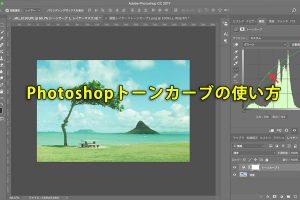 Photoshopトーンカーブの使い方