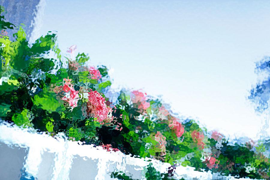 photoshopフィルター_海の波紋