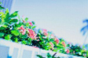photoshopフィルター_パッチワーク