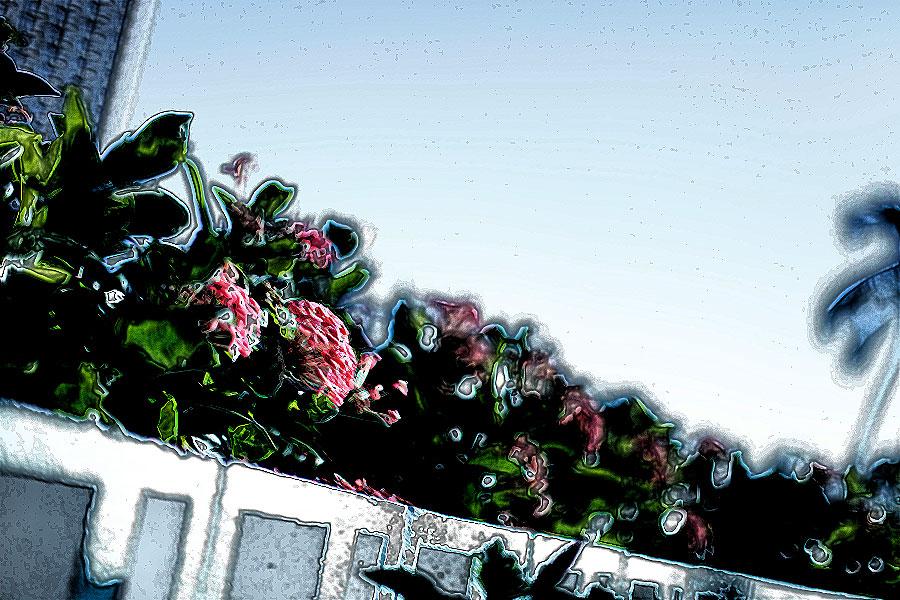 photoshopフィルター_インク画(外形)