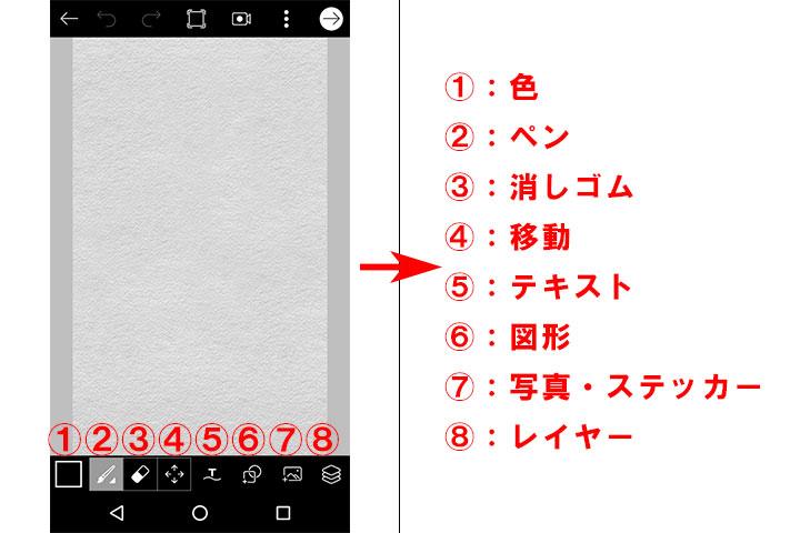picsart_使い方_ペイント3
