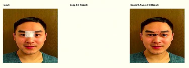 Adobe-sensei-ProjectDeepFillキャプチャ