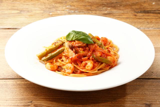 パスタの料理写真
