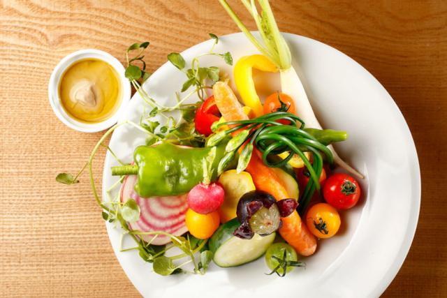 バーニャカウダーの料理写真
