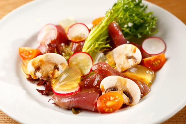 鮮魚マリネの料理写真