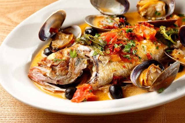 魚介料理の料理写真