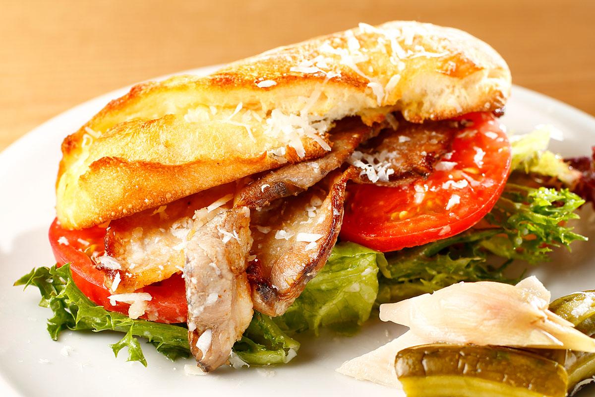 サンドイッチの料理写真