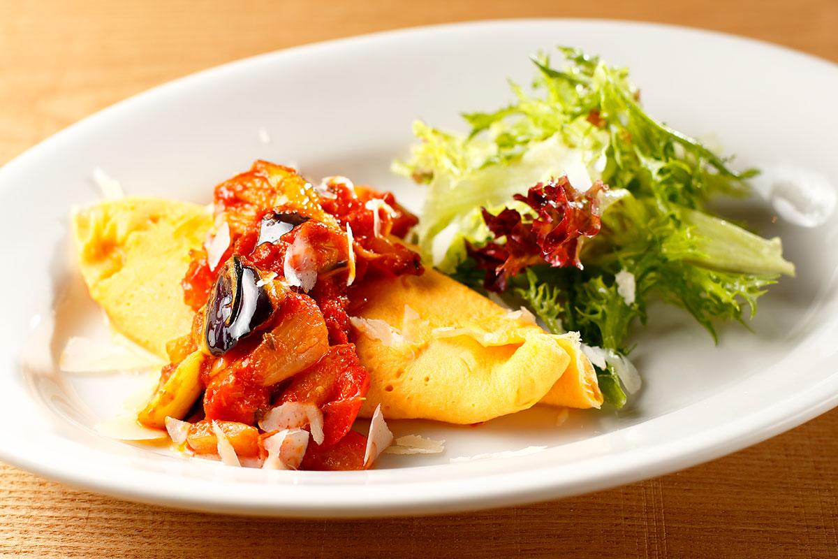 オムレツの料理写真