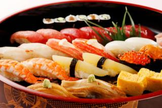 お寿司の料理写真