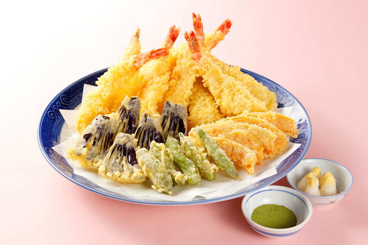 天ぷらの料理写真