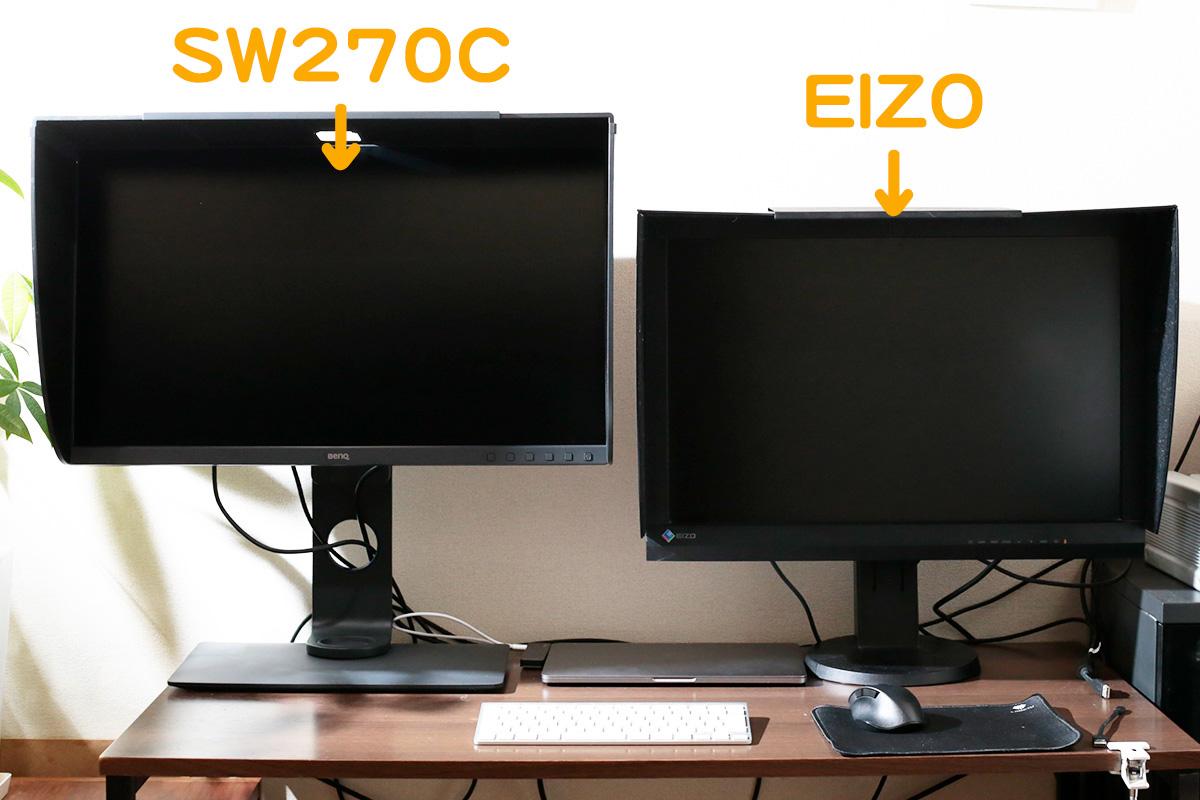 BenQ SW270Cレビュー