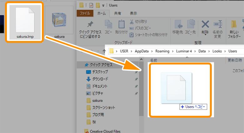 Luminar 4Looks(プリセット)追加方法